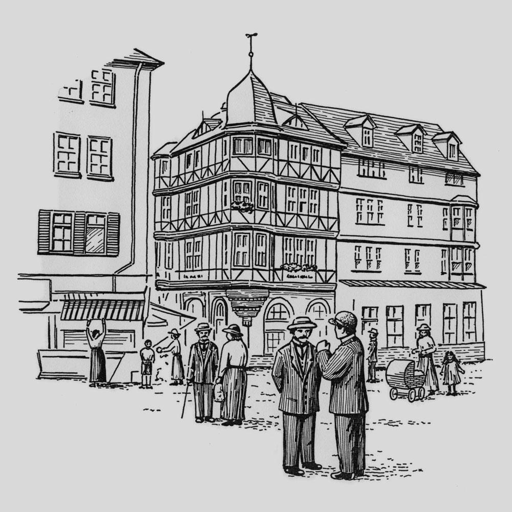 D's Kraachenknöbbchen (Illustration)