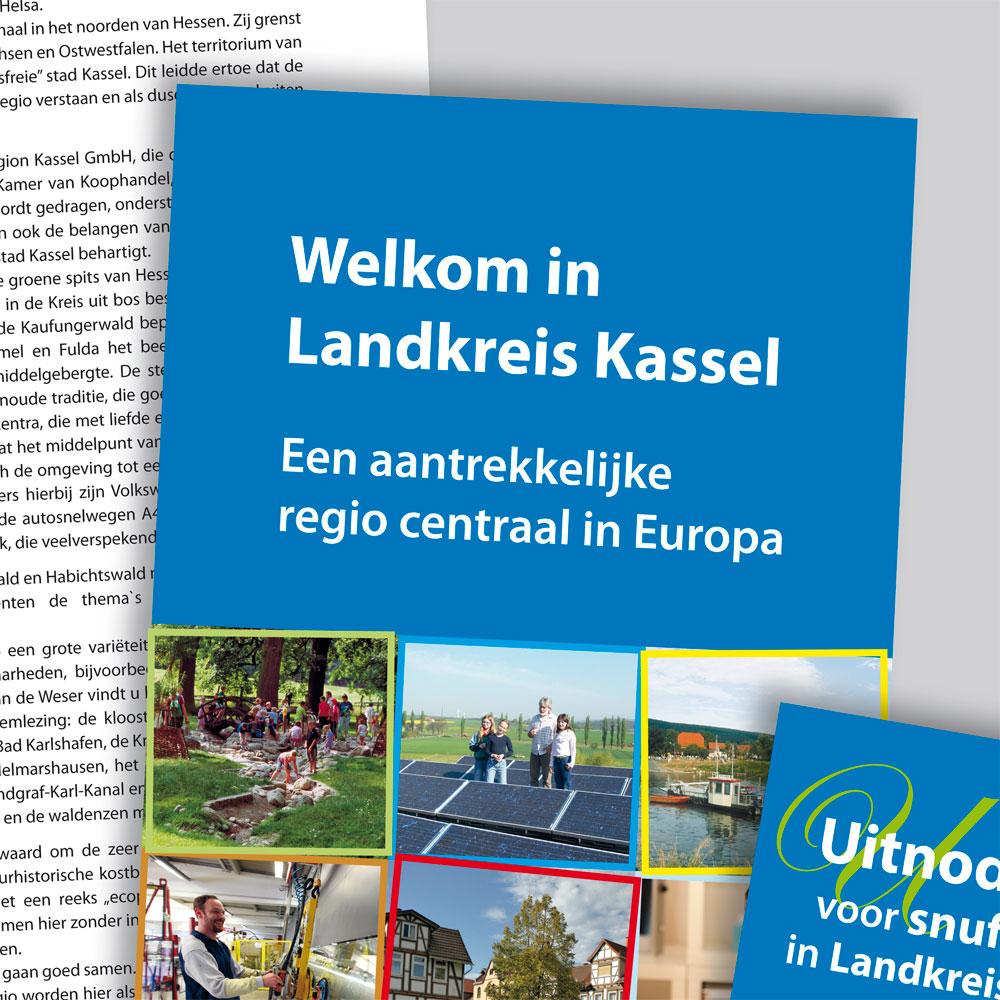 Welkom in Landkreis Kassel (Prospekt und Messepanels)