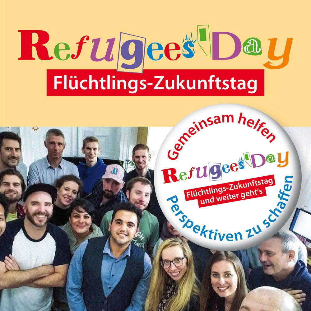 Refugees' Day (Website, Flyer, Roll-Up)