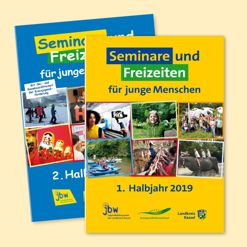 Jugendbildungswerk Programm I-2019 (Broschüre, Flyer, Plakat)