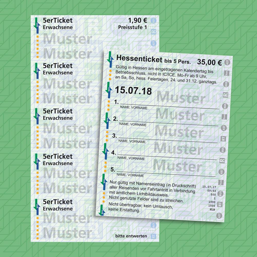 Tickets im Nordhessischen VerkehrsVerbund
