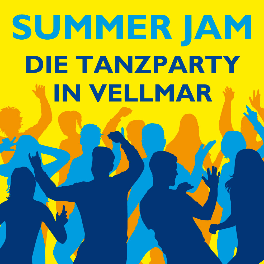 "Tanzparty ""Summer Jam"" in Vellmar (Karten, Plakate)"