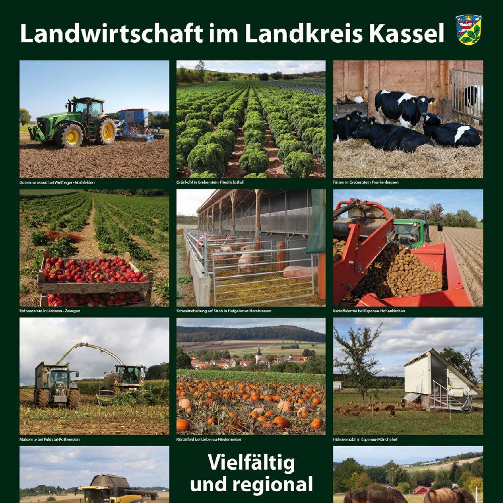Landwirtschaft im Landkreis Kassel (Fotos und Plakat)