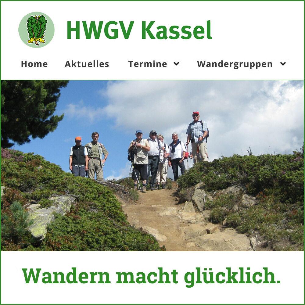 Website des Hessisch-Waldeckischen Gebirgsverein Kassel
