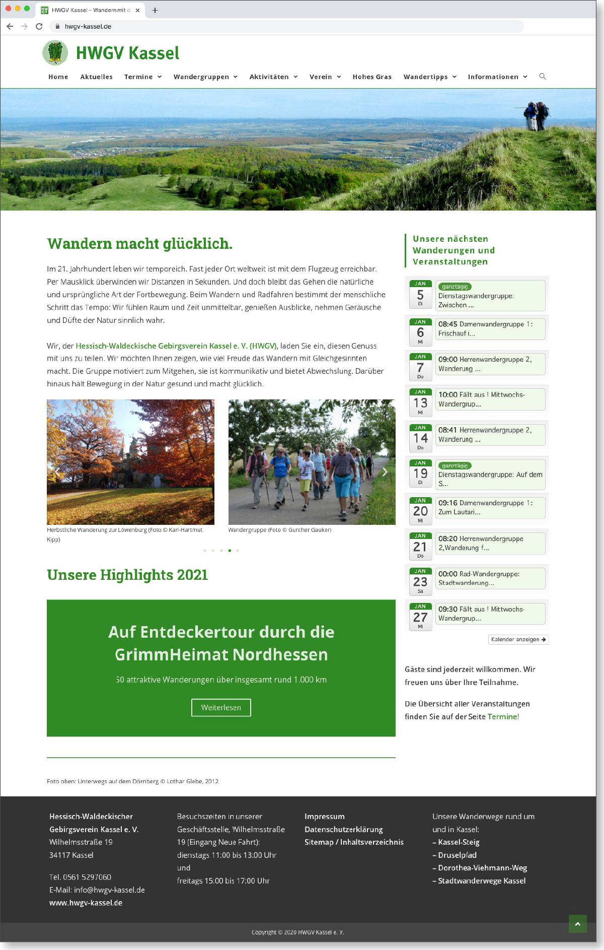 Startseite hwgv-kassel.de
