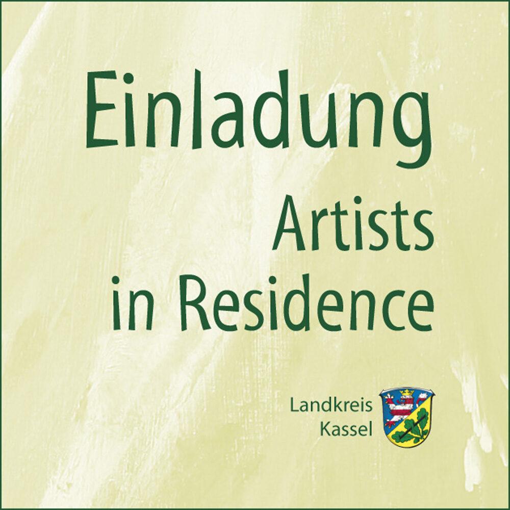 Artists in Residence (Einladungskarten zur Vernissage)