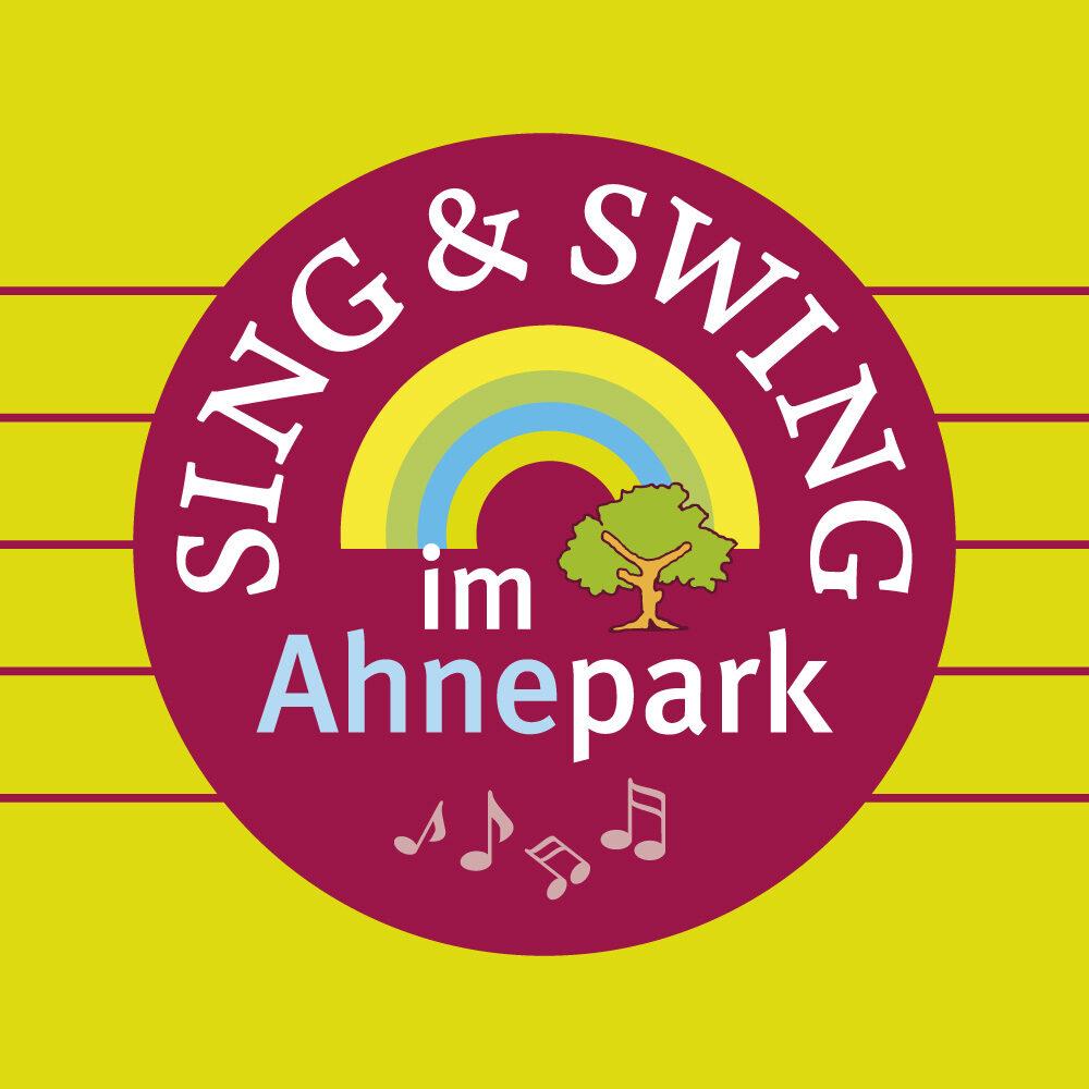 Sing & Swing im Ahnepark (Logo, Karten, Plakate, Banner)