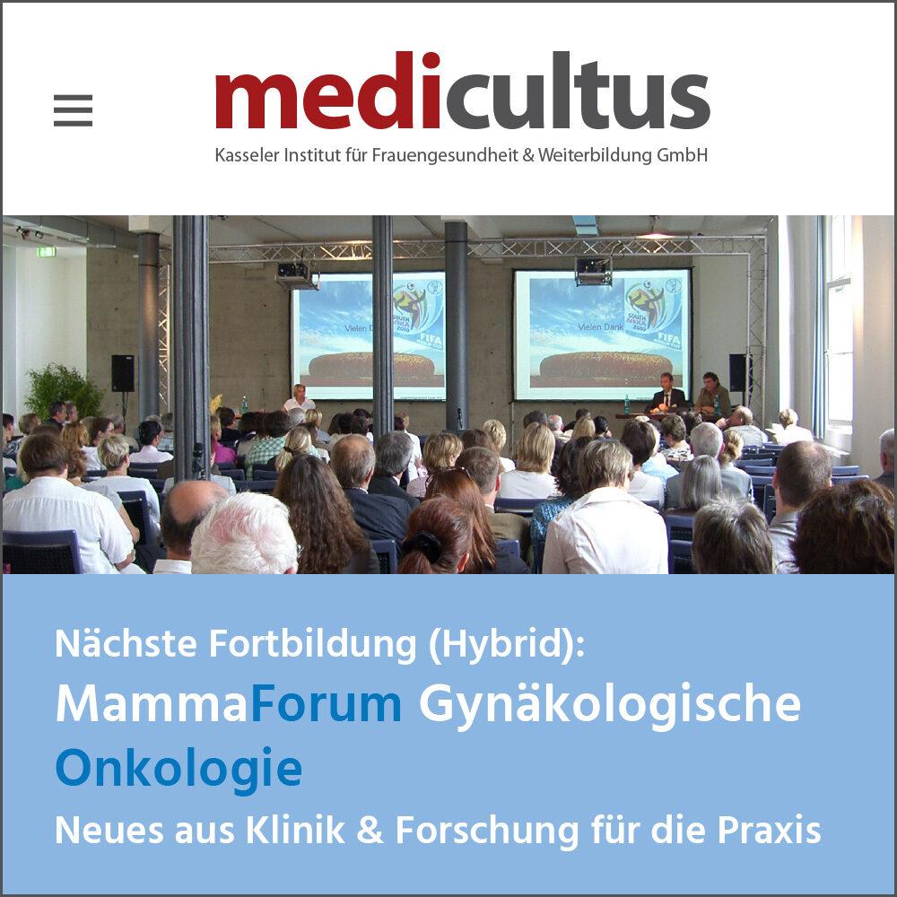 medicultus Website und Programm